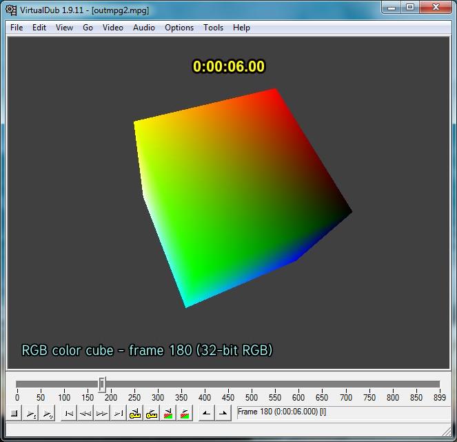 Virtualdub, FFmpeg and I frames!   Spreadys blog
