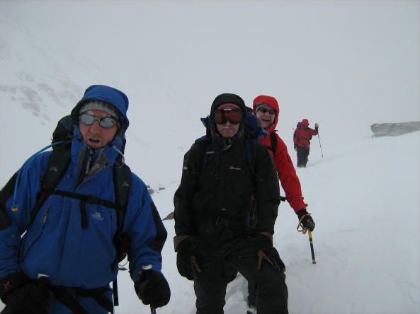 The escape down Toubkal