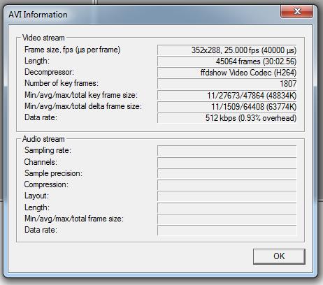 Virtualdub Info