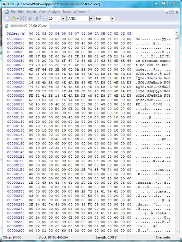 HXD-file