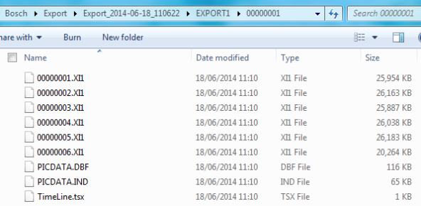 Are these the video files?